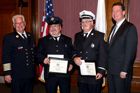 Worcester Fire Promotion and Award Ceremony