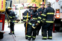 Working fire Worcester Dallas Street 10/27/13